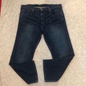 Levi's 569 38x30 38/30 Dark Jeans Loose Straight